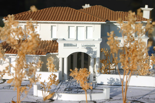 Architectural Model Image - Front Elevation