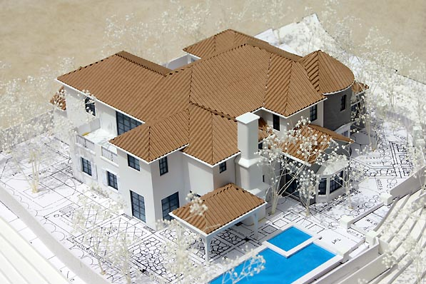 Scale Architectural Models Homes Kits Architectural Model San Dimas Home