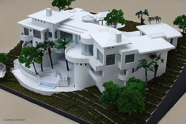Architectural model san dimas home general home for Architecture design house model