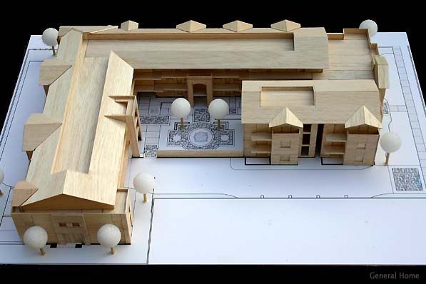 Architectural Model Image - North View