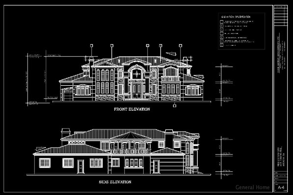 Front Elevation Design In Autocad : Elevation in autocad joy studio design gallery best