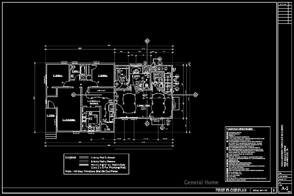 Autocad Service Los Angeles Room Addition General Home