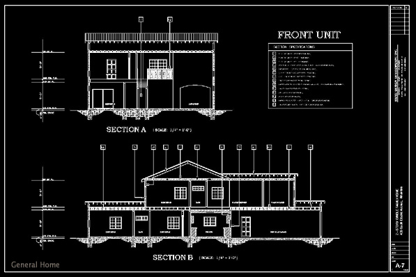 Autocad Drafting Alhambra Homes General Home