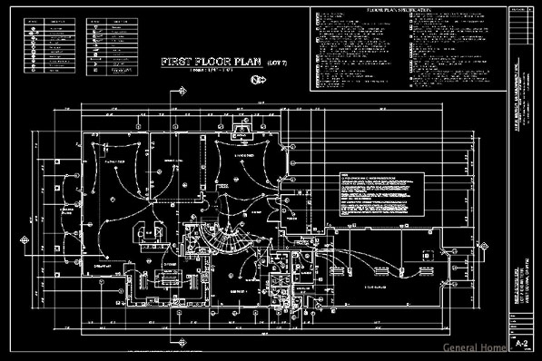 AutoCAD tutorial drawing a floor plan P2 from myCADsite.com