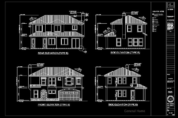 Cad Drafting Temple City Homes General Home