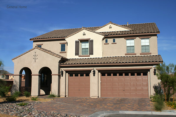 Residential Home Design Image - Las Vegas Home