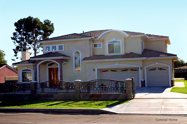 Temple City Residential Design Home Image Front Elevation