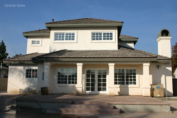Temple City Home Image - Rear Elevation